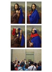 Frenchising Mona Lisa 3 - Amir Baradaran