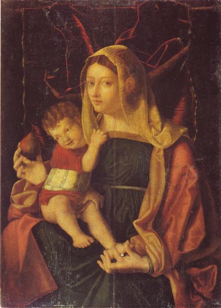 Madonna Della Pera - Bartolomeo Veneto