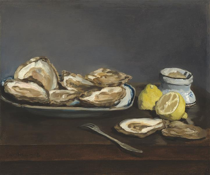 Oysters, 1862 - Edouard Manet