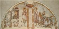 Martyrdom of St. John and St. Paul - Alberto Sotio