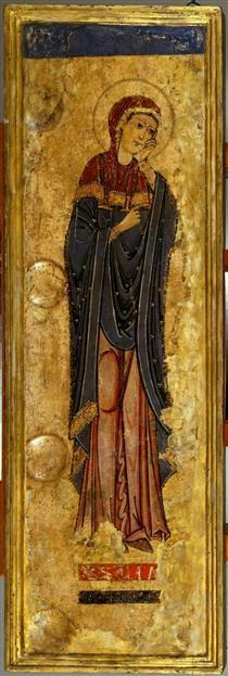 The Mourning Virgin Mary 1180 90 - Alberto Sotio