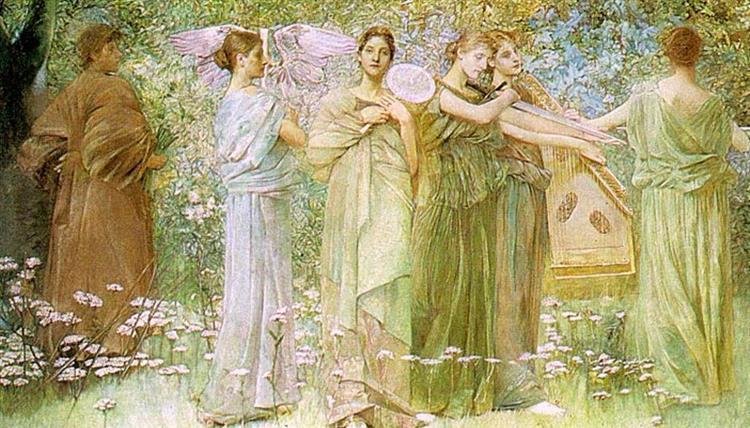 The Days, 1886 - Thomas Dewing