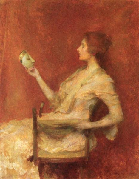 The Mask, 1902 - Thomas Dewing