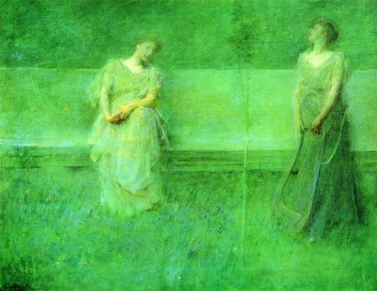 The Song, 1891 - Thomas Dewing