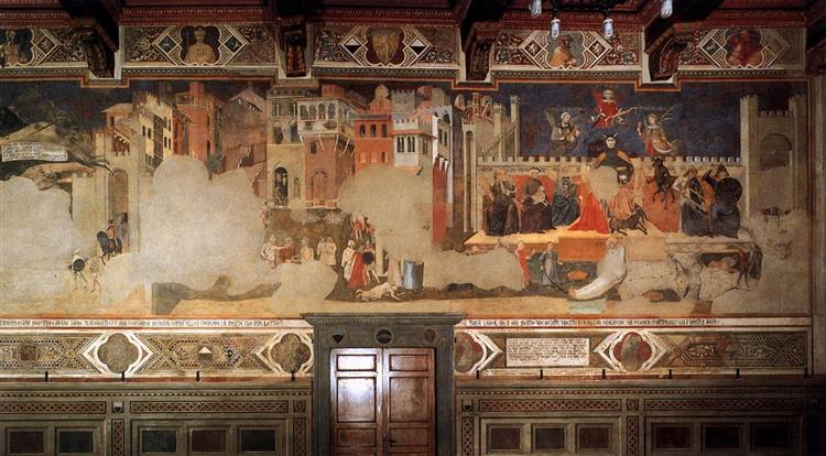 Bad Government and the Effects of Bad Government on the City Life - Ambrogio Lorenzetti