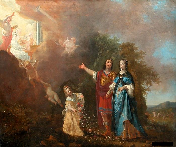 Portrait D'un Couple - Nikolaus Knüpfer