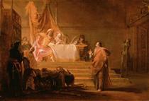 Solon Before Croesus - Nikolaus Knüpfer
