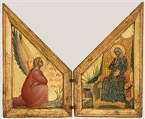 The Annunciation - Паоло Венециано