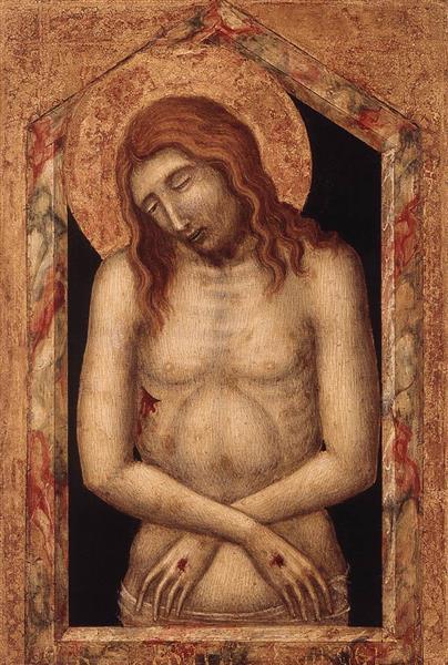 Man of Sorrow, 1345 - Pietro Lorenzetti