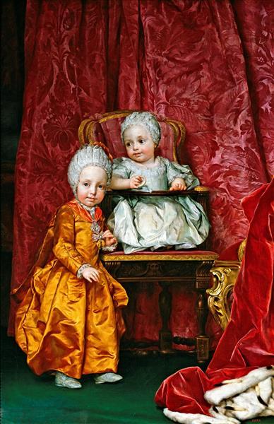 Archduke Ferdinand and Archduchess Maria Anna of Austria, 1779 - Антон Рафаэль Менгс