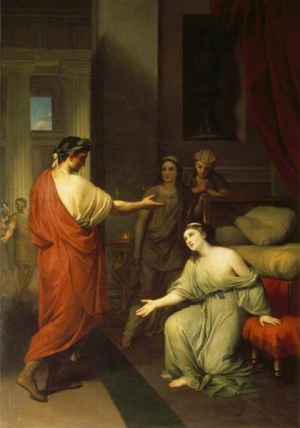 Octavius Caesar (Later the Emperor Augustus), and Cleopatra, 1760 - Anton Raphael Mengs