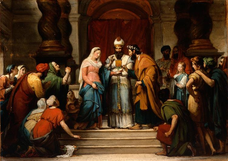 The Marriage of the Virgin, 1833 - Jérôme-Martin Langlois