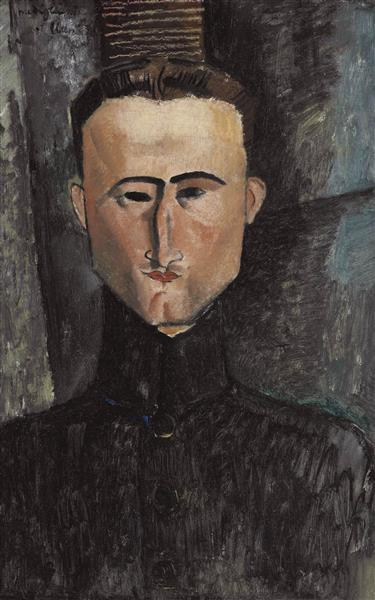 Andre Rouveyre, 1915 - Amedeo Modigliani