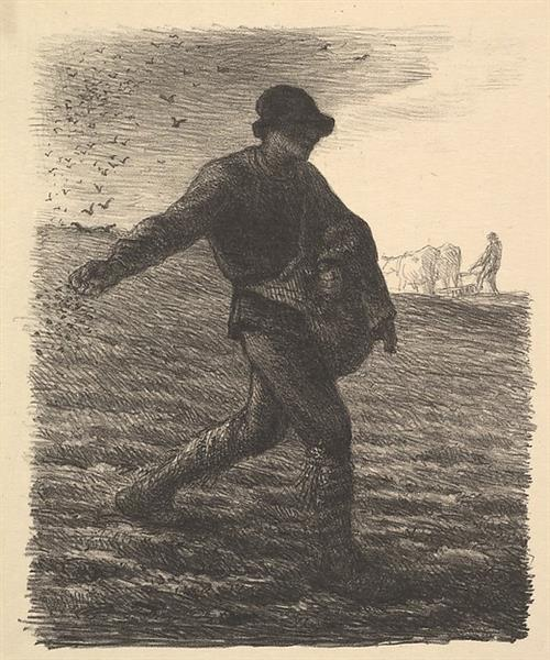 The Sower, 1851 - Jean-François Millet