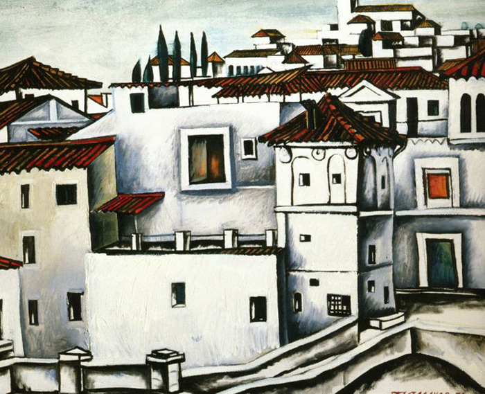 Granada, the Roofs, 1978 - Tahir Salahov