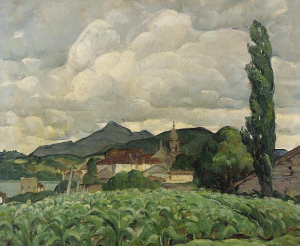 Basque Landscape, 1914 - Leon Kroll
