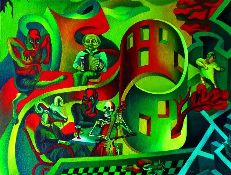 Evil Holiday, 2009 - Nina Tokhtaman Valetova