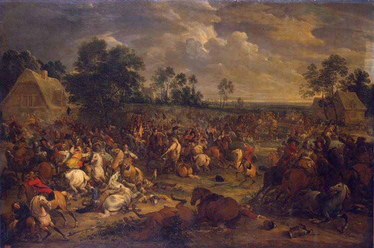 Battle, 1657 - Adam van der Meulen