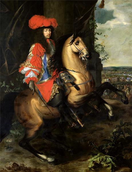 Людовик XIV - Adam van der Meulen