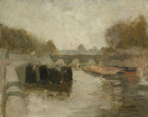 Le Pont - Henri Matisse