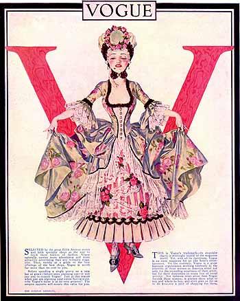 Vogue, 1915 - Frank Xavier Leyendecker