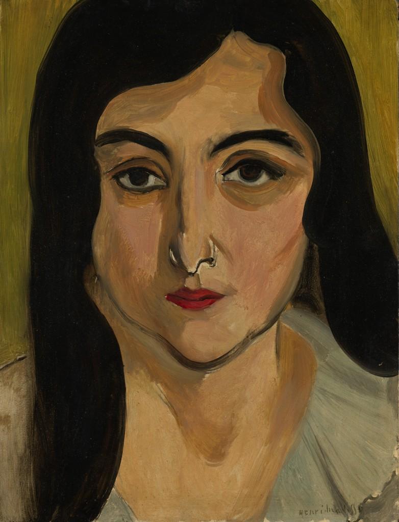 Lorette, 1917 - Henri Matisse - WikiArt.org