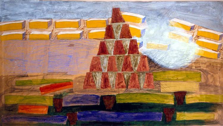 Landscape, 1976 - Charles Garabedian