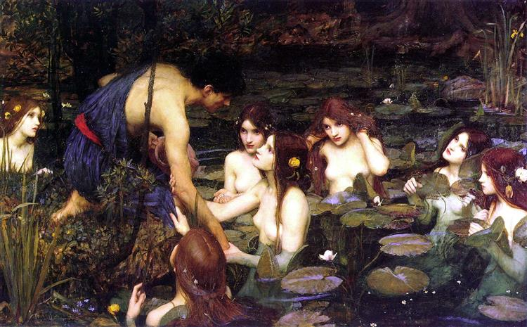 Hylas and the Nymphs, 1896 - John William Waterhouse