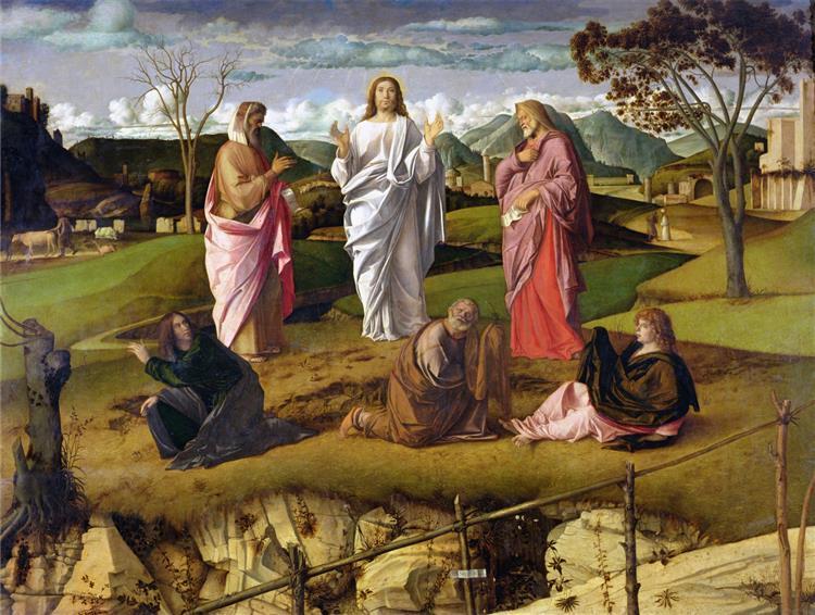 La Transfiguration, c.1480 - Giovanni Bellini