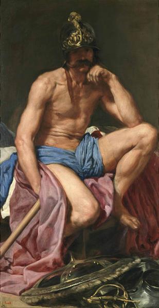 Mars, c.1640 - Diego Velazquez