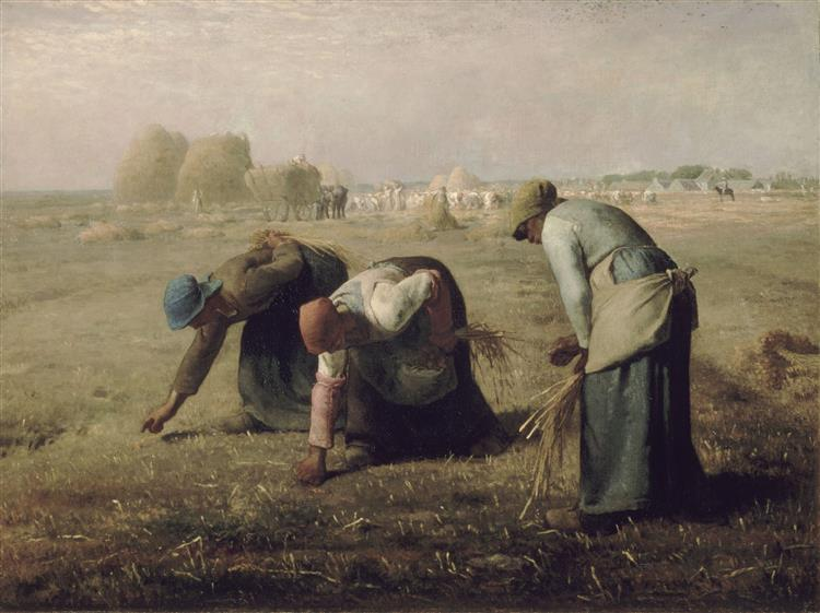 The Gleaners, 1857 - Jean-Francois Millet