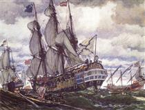 The Ships of the Times of Peter I - Yevgueni Lanseré