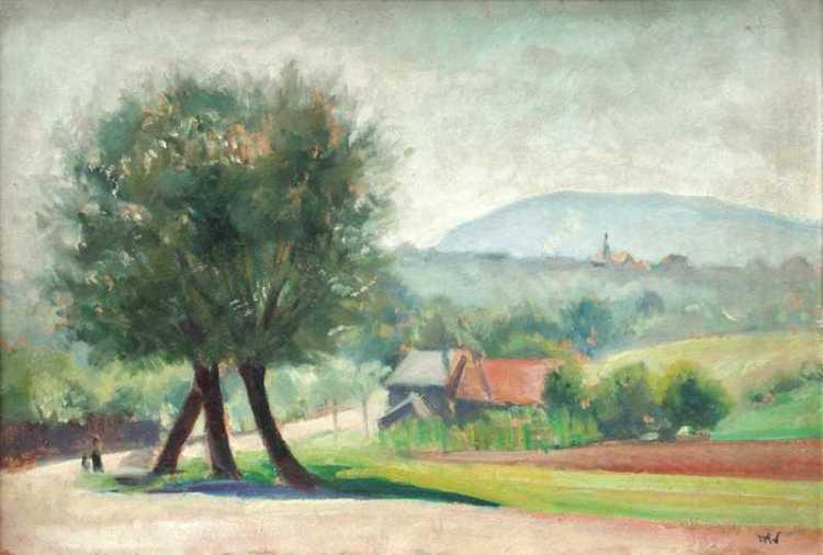 Landscape - Wojciech Weiss