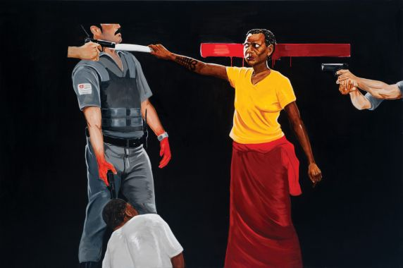 Black Mother or Iansan's Fury, 2014 - Sidney Amaral