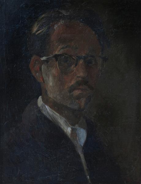 Autoretrato, 1953 - Vlady Kibalchich Rusakov