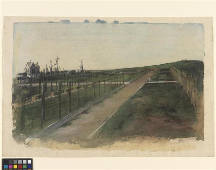 Wimereux Cemetery - Austin Osman Spare