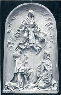Mother Mary with Rosary - Joseph Urbania
