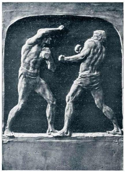 The Wrestlers, 1913 - Joseph Urbania