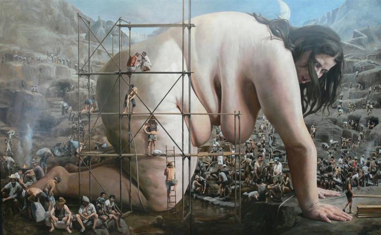 Earth klein, 2010 - Rolf Ohst