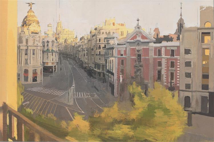 Gran Via De Agosto - Antonio Lopez Garcia