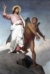 The Temptation of Christ - Ary Scheffer