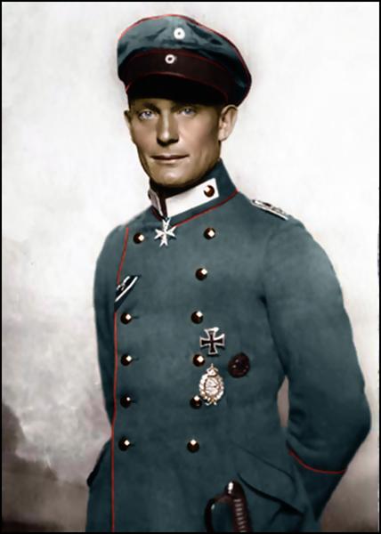 Porträt Von Hermann Göring, Als Er Jagdflieger War, 1918 - Nicola Perscheid