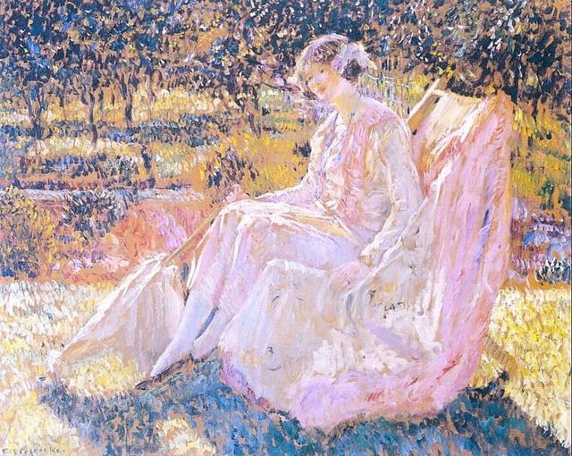 Sunbath, 1914 - Фридрих Карл Фриске