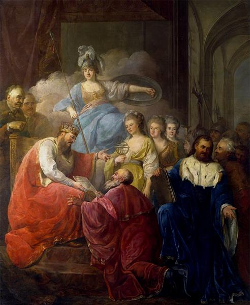 Granting Privileges to the Academy of Krakow, 1796 - Марчелло Баччареллі