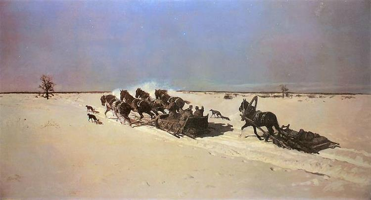 Moonlight, 1877 - Józef Chełmoński