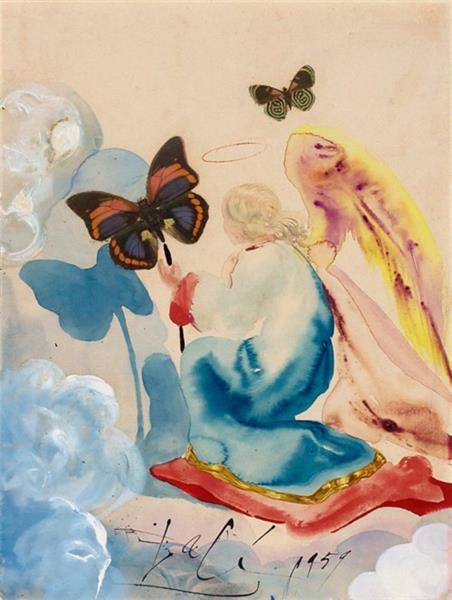 Easter Angel, 1959 - Salvador Dali