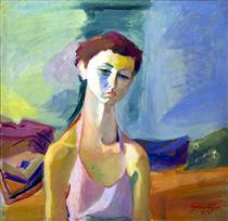 The Portrait of Anahid - Haroutiun Galentz