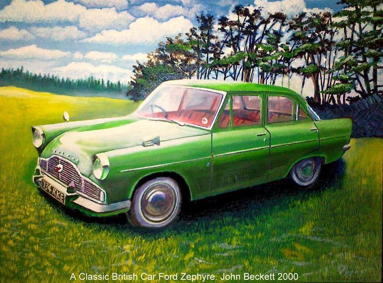 A Classic British Car - John-Baroque