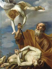 The Sacrifice of Isaac - Orazio Riminaldi