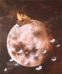 A day of fishing in lunar seas - Marina Pallares